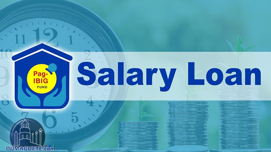 Pag-IBIG Salary Loan Application