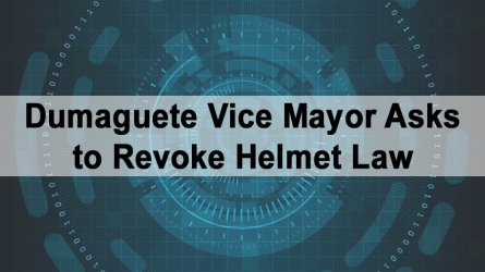 Dumaguete Vice Mayor Asks to Revoke Helmet Law