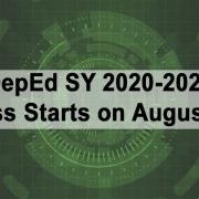 DepEd SY 2020-2021 Class Starts on August 24