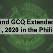 ECQ and GCQ Extended until May 31, 2020 in the Philippines