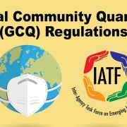 General Community Quarantine (GCQ) Regulations as of May 29, 2020