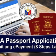 DFA Philippine Passport Application Gamit ang ePayment (8-Steps-Lang!)
