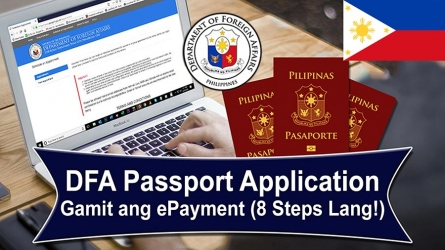 Philippine Passport Application Gamit ang ePayment (8 STEPS LANG!)