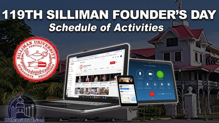119th Silliman University Founder's Day Schedule of Activities