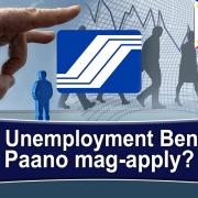 Paano mag-apply ng SSS Unemployment Benefit (FILIPINO)