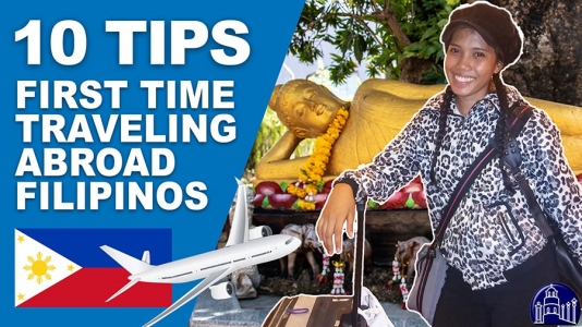 10 Tips for First Time Traveling Abroad for Filipinos