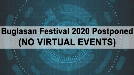 Buglasan Festival 2020 Postponed (NO VIRTUAL EVENTS)