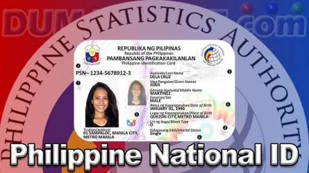 Philippine National ID in Dumaguete City