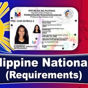 Philippine National ID - Requirements (2020)