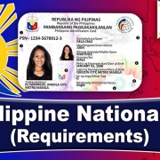 Philippine National ID – Requirements (2020) FILIPINO