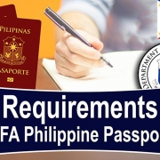 Requirements Philippine Passport DFA (FILIPINO) - Video