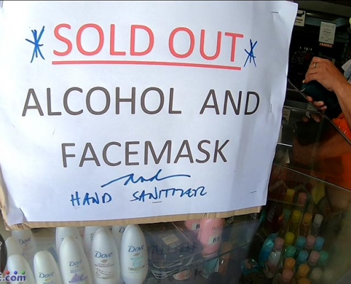 Sold Out - Alcohol, Face Mask and Hand Sanitizer