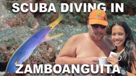 Scuba diving in Zamboanguita (Basak)