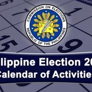 Philippine Election 2022 (Calendar of Activities)