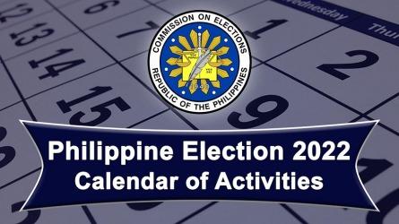 Philippine Election 2022 (Calendar of Activities) – Video