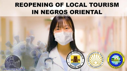 Reopening of Local Tourism in Negros Oriental