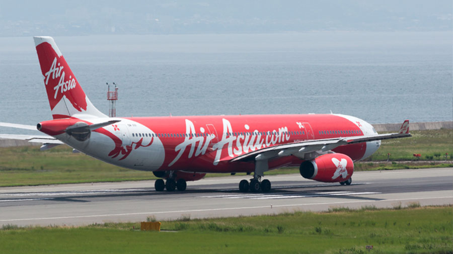 Air Asia Airplane - Time and Schedule
