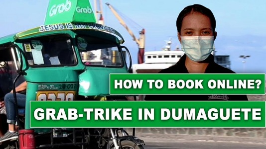 Grab-Trike in Dumaguete City (How to Book a Tricycle Online) – Video