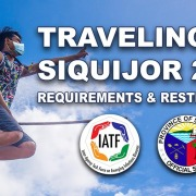 Traveling to Siquijor 2021(Requirements & Restrictions)