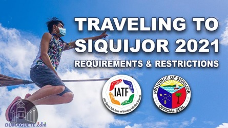 Traveling to Siquijor (Requirements & Restrictions) 2021