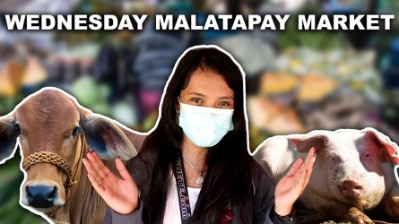 Wednesday Malatapay Market (REOPENED) – Video