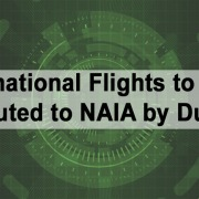 All International Flights to Cebu Rerouted to NAIA by Duterte