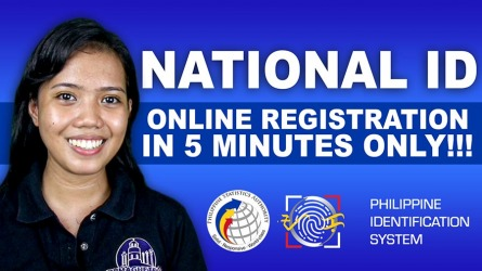 Philippine National ID – Online Registration in 6 MINUTES ONLY!!! – Video