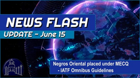 Negros Oriental placed under MECQ – Video